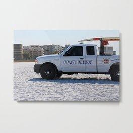 Beach Patrol Metal Print