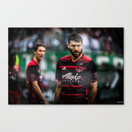 The Eyes of the Maestro  Canvas Print