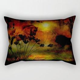 Bearing Witness Rectangular Pillow