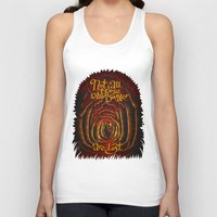 aragorn Tank Tops featuring Those Who Wander by Olena Nemitkova