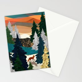 Amber Fox Stationery Cards