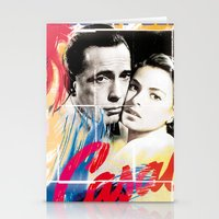 casablanca Stationery Cards featuring Casablanca by Paky Gagliano