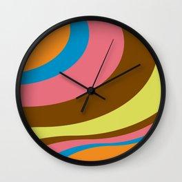 Retro Flow Wall Clock