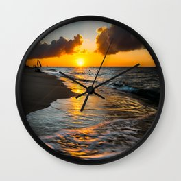 Boracay Sunset Wall Clock