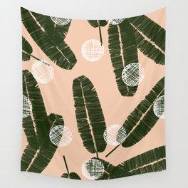 Palms & Dots #society6 #decor #buyart Wall Tapestry