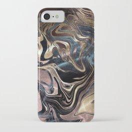 Deep Liquid Gold iPhone Case