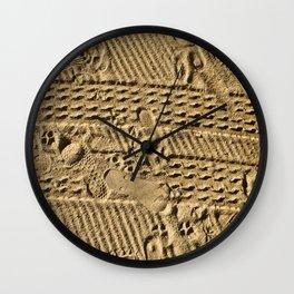 The Diary of a Beach. Wall Clock