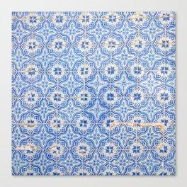 Lisbon tiles Canvas Print