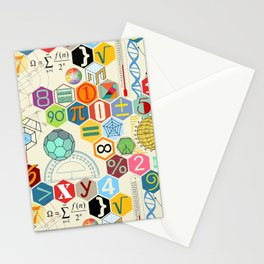Math in color (little) Stationery Cards