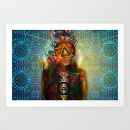 Treyeangle Art Print
