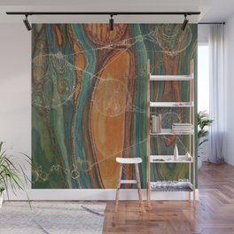 Lively Synapses (Amplified Current) Wall Mural