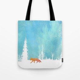 A Fox in the Wild Tote Bag