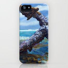 Shoreline Anchor - Charles Eaton Shipwreck iPhone Case