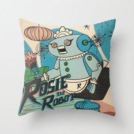 Rosie The Robot Throw Pillow