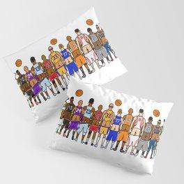 Basketball Butts Pillow Sham