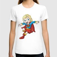 supergirl T-shirts featuring Supergirl! by neicosta