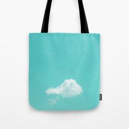 Nube cian Tote Bag