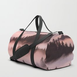 Bolinas Ridge Foggy Sunset Duffle Bag