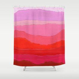 Colores III Shower Curtain