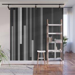 Black Lines Wall Mural