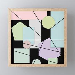 Mid Century Modern Abstract Framed Mini Art Print