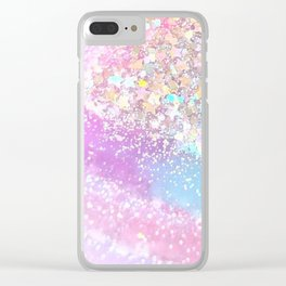 Pastel Kei Galaxy Clear iPhone Case