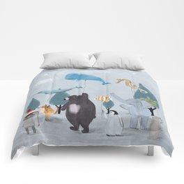 nature parade Comforters