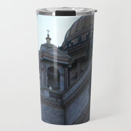 The architecture of St. Isaac's Cathedral. Travel Mug