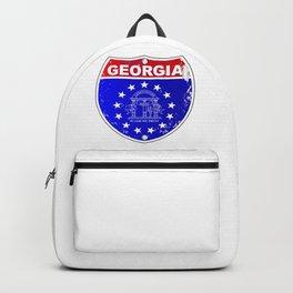 Georgia Interstate Sign Backpack