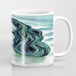 Maybe I'm A Mermaid (Tori Amos inspired art) Coffee Mug