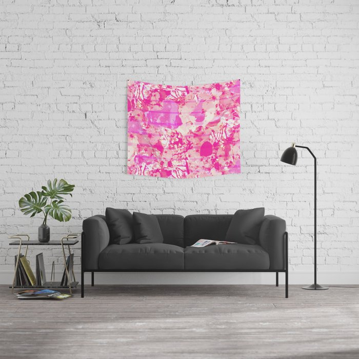 Cherry Bomb Stripe Wall Tapestry