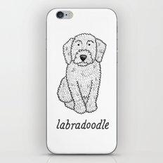 Dog Breeds: Labradoodle iPhone & iPod Skin