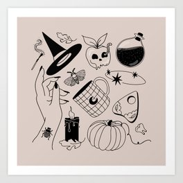 October Mood Art Print