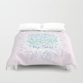 Trust and Obey - Hymn Duvet Cover