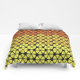 Ultraviolence Orange Comforters