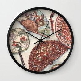 Fans Wall Clock
