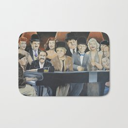 Classic Celebrities Bath Mat
