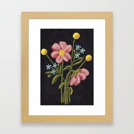 Sunshine Bouquet Framed Art Print