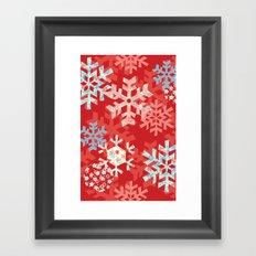 Snowflake Dream Framed Art Print