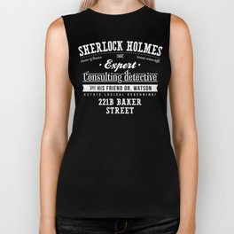 Sherlock Holmes -Consulting Detective- Biker Tank