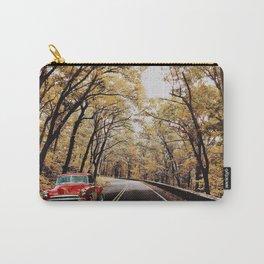 Vintage Car on Skyline Drive Carry-All Pouch