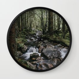 The Fairytale Forest - Landscape and Nature Photography Wall Clock