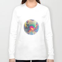 rose Long Sleeve T-shirts featuring Sunrise by Klara Acel