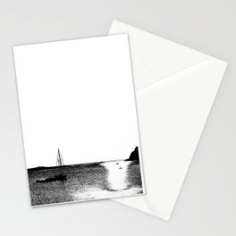 Sailing in the Bay Stationery Cards