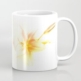 Pink and Yellow Tiger Lily - Dreamy Floral Photography - Flower Art Prints, T-shirts, Phone Cases... Coffee Mug