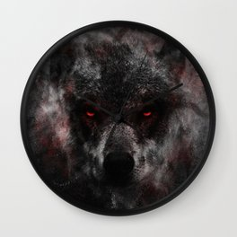 The Leader of the Pack Wall Clock
