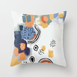 Color Theory 1 Throw Pillow