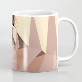 Multifaceted - Rose Gold and Copper Coffee Mug