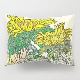 With Flowers Pillow Sham
