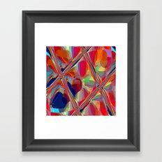 Re-Created  Glass Ceiling VIII by Robert S. Lee Framed Art Print